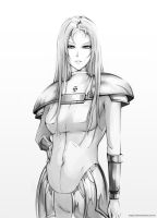 claymore - The Silent Chloey by sspit