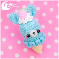 Crochet ice-cream friends Charm 2 by CuteMoonbunny
