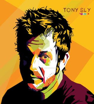 Tony Sly In WPAP by cuboxstudio