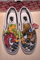 customized vans2 by graynd