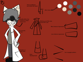 Dr. W Ref by theStupidButterfly
