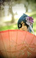 khr : umbrella and flower by kim-tram