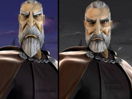 Count Dooku Revisited by DarthTemoc