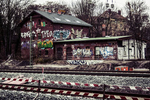 train station by Oryonas