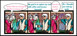Godot's Goals by ColonelMustang