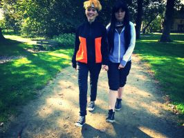 NaruHina: A walk in the park by DevilsxWings