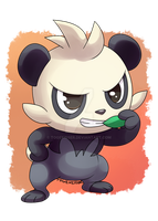 Pokeddexy: Favorite Fighting Type - Pancham