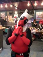 Deadpool the Human by The-Rubber-Pineapple
