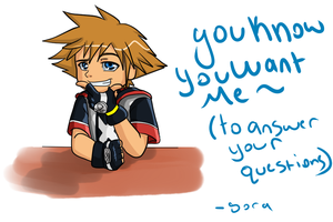You know you WANT Sora by Pon3Splash