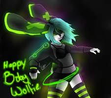 Happy Birthday Wolfie131 by Mirrorslily