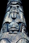 Totem Pole Closeup by El-Sharra