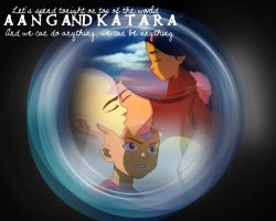 We Can Be Anything: Kataang by freedomfighter12