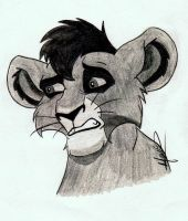 Cub Kovu! ^^ by HazelNutsandCream