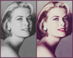 Grace Kelly colorization by KraljAleksandar