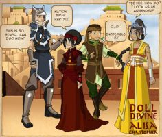 ATLA Nation Swap Party by dolldivine
