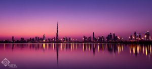 The burj Reflection by uaeprof