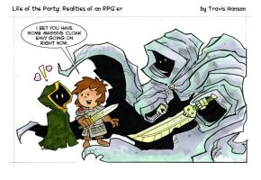Cloak Envy RPG comic by travisJhanson