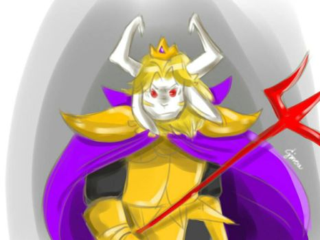 Asgore Dreemurr by MelodiousRed