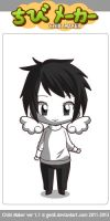 Chibi Zacharie with wings (OFF) (a video game) by neko-mars