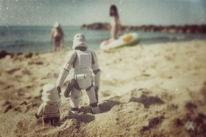 Tatooine beach by Z-UO
