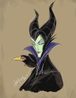 Maleficent by AndyPoonDesign