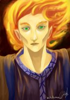 Flame Haired by BelleIllumina