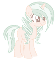 #06 [CLOSED] Curly Pastel Pony by TheAdoptableSquad