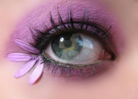 Purple Make-up by KatherineDavis