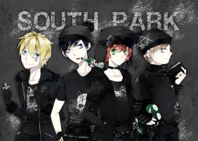 GOTH PARK by shiron2611