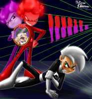 Danny Phantom: Double Trouble by KicsterAsh