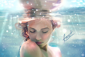 Underwater Dream by fizzypopcake