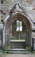 Tintern Abbey 3 - Stock by OghamMoon