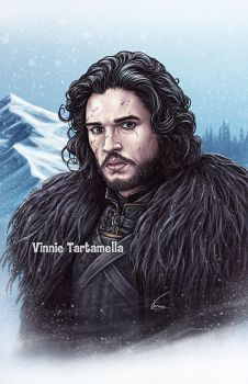 Jon Snow by VinRoc