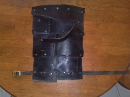 Leather Thigh Armour by Al-the-Monkey