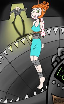 Kidnapped Lucy by GagPal3