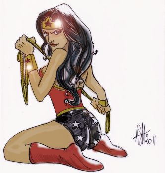 Wonder Woman by scarecrowhassan