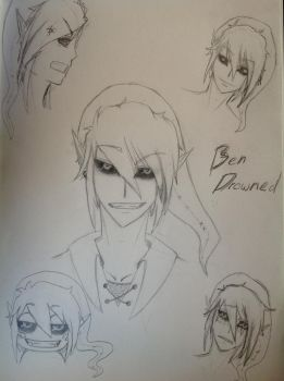 Creepypasta - Ben drowned by Mino-cake