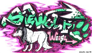 SWW Graff. ft. Aniu by Lorfis-Aniu