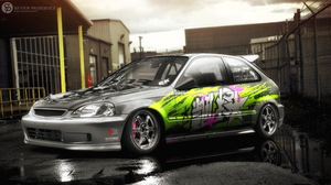 Honda Civic CX by Skontch