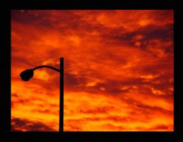 Lonely Lamp Post by sdawg