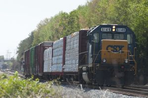 CSX Switching off the Mainline by Sudak