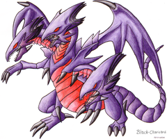 Red-Eyes Ultimate Dragon by Black-Charizard