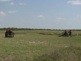 US 6lber Cannon and Caisson by Like--A--Fox