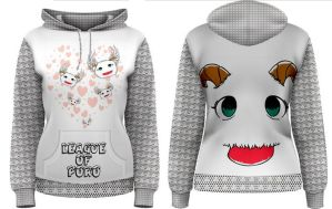 Women's Hoodie League of Poro - League of Legends by LadyEloysa88