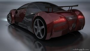 My Concept Car - Back by Meletis