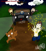 Supernatural VS Twilight by BlackDeaWing14