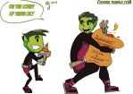 Day 4: Beast Boy by Ceshira