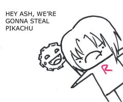 Ash doesn't know metaphors by Usato
