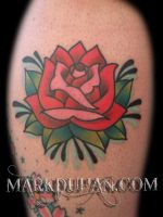 ROSE TATTOO by amduhan