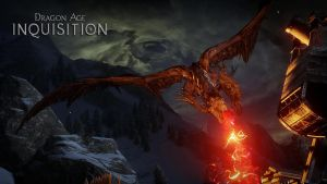 Dragon Age Inquisition Dragon at Haven by micro5797